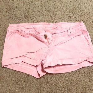 Mossimo super-short pink shorts